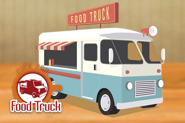 Café com foodtruck